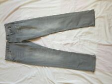 "MENS EASY FADED GREY TAPERED LEG JEANS SIZE 36"" WAIST 32"" LEG"