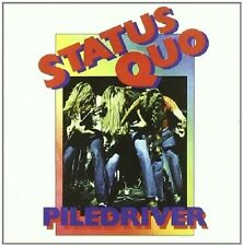Status Quo Piledriver CD+Bonus Track NEW SEALED Paper Plane/Roadhouse Blues+
