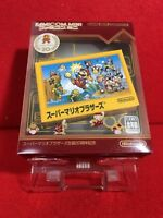Used Nintendo Game Boy Advance GBA Famicom Mini SUPER MARIO BROS 20th ver