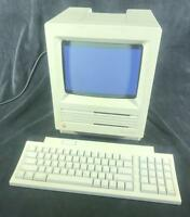 Apple Macintosh SE 1Mbyte Ram 800K M5010 + Keyboard II M0487 Bundle