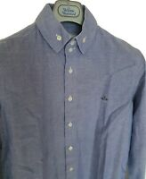 Mens MAN by VIVIENNE WESTWOOD long sleeve size I /small. Immaculate RRP £225.