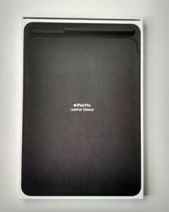 """Genuine Apple Leather Sleeve iPad Pro 10.5"""" Black - MPU62ZM/A - Retail $129"""