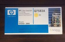 Toner Originale Giallo Yellow Stampante Laser HP Q7582A Nuovo Sigillato