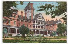 Paso Robles Hotel Springs Hotel California 1910c postcard