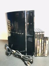 Sony PlayStation 3 Fat 80GB Backwards Compatible CECHE01 PS1 PS2 PS3 Console