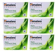 Himalaya erbe-Neem & Curcuma Sapone - 6 x 75 G bar-Protezione