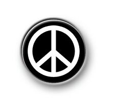 "PEACE 1"" / 25mm / pin button / badge / novelty / funny / peace / love / harmony"