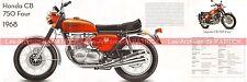 HONDA CB 750 Four 1968 Fiche Moto 000474