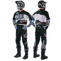 ONeal Afterburner SET MX Moto Cross Hose Jersey Motorrad Enduro Bekleidung Quad