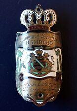 Insignia Círculo De Compatriotas Sajonia Hamburgo 1904 Correo Electrónico,