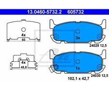 ATE Bremsbeläge Belagsatz Bremsklotz  Hinterachse  Mazda 13.0460-5732  ATE 13.0