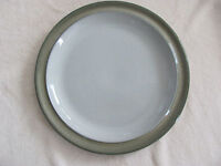 """Denby-Langley Fjord Green Band -11 3/4"""" Round Platter/Chop Plate(s)- 2 Available"""