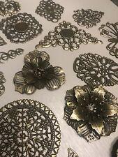 Metal Bronze Embellishment ,Mixed Media, Scrapbooking,Cards, Jewellery ,Journal