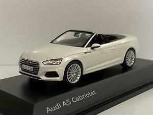 Audi A5 Cabriolet Tofana White 1:43 Scale Spark 5011705332