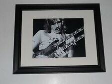 "Framed Joe Walsh 1972 Poster James Gang, Eagles (Double Guitar) 14"" by 17"""