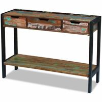 Rustic Buffet Sideboard Table Cabinet Hall Table Console Cabinet Storage Cabinet