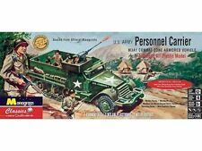Revell #0035 MONOGRAM U.S. ARMY PERSONNEL CARRIER HALF TRACK 1/35 model kit new