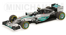 Minichamps 1:43 417 150106 Mercedes F.1 W06 #6 Winner Monaco GP 2015 Rosberg NEW