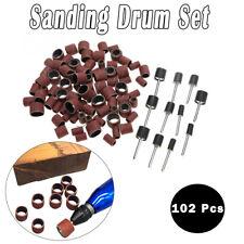 102Pcs Rotary Tool Accessories Bit Set Polishing Kit For Dremel Grindingt