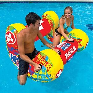 Water Rocker pool swimming inflatable float lounge water-ski beach river 14-2100