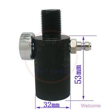 Cylinder Valve Airforce Pressure Test Double Hole Joint 30MPA for Condor Talon