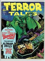 Terror Tales Vol. 4 #1 Classic Horror Magazine Eerie Publications 1972