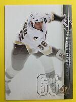2010-11 Upper Deck SP Authentic #59 Mario Lemieux Pittsburgh Penguins Legend