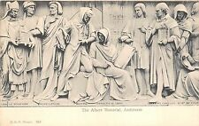 B85775  architects   the albert memorial sculpture postcard art   london uk