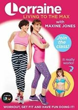 Lorraine Kelly Living to The Max With Maxine Jones 2015 DVD 5053083064334