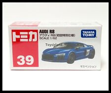 TOMICA 39 AUDI R8 1/62 TOMY DIECAST CAR 2017 June New Model First edition Blue