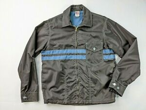 Birdwell Beach Britches Classic Jacket Size Small Brown and Blue