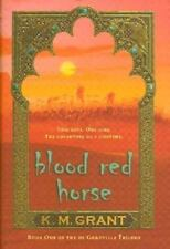 BLOOD RED HORSE by KM Grant FREE SHIPPING paperback book teen historical k.m.