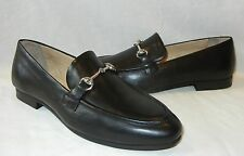 UO Urban Outfitters Women's Iman Horsebit Black Leather Loafer Retail $69 sz 10
