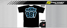 CUSTOM NAME AND NUMBER TEE SHIRT MX MOTOCROSS  Style #4