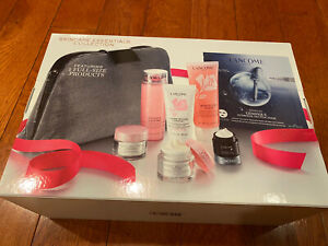 New Lancome Skincare Essentials Collection $124 VALU 7Pc Cleanser Face Cream SET