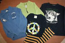 Gymboree Land's End Crazy 8 Boys sz 5 Shirts Pajamas Sweater 5 piece lot Lot