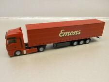 Herpa 066136 MAN TGA XL Curtain Canvas Semitrailer Emons 1:160 N Scale