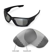 New Walleva Polarized Transition/Photochromic Lenses For Oakley Style Switch