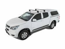 Rhino Rack Vortex 2500 Black 2 Bar Roof Rack HOLDEN Colorado Crew Cab (JA2225)