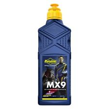 Motorcycle Engine Oil Putoline MX9 Ester Tech Two Stroke 1 Litre Full Synthetic