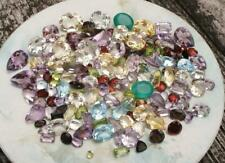 Over 150 Carats of Natural Gem Mix Loose Faceted  Parcel Lot