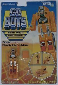 Tonka GoBots Dozer 1983 action figure