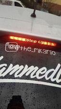 Kia Rio Mk3 3rd Brake Light Car Vinyl Sticker Decal Pro Ceed GT Fast Free P&P