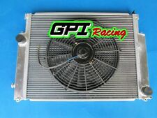 GPI HIGH-PERF. DUAL CORE ALUMINUM ALLOY RADIATOR BMW E36 M3/Z3/325i+FAN,NEW