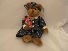 The Bearington Collection Stars & Stripes Bear 1335 Limited w/Tags (13 inch)