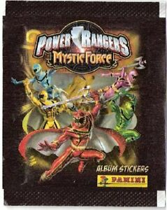 Power Rangers Mystic Force Lot 40 Packets Stickers Panini