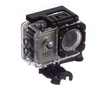 SILVER 1080p Action Sports Camera 30m Waterproof HD & Mounting Accesories!