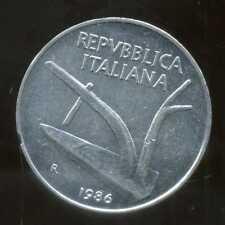 ITALIE  ITALY   10 lire 1986
