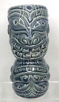 "Tiki Farm Big Toe Blue Ceramic 3D Mug 2013 Hawaiian Barware Mirror Image 7.5"""