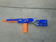 NERF N-Strike LONGSTRIKE CS-6 Sniper Toy Rifle Soft Dart Gun/Blaster w/ Magazine